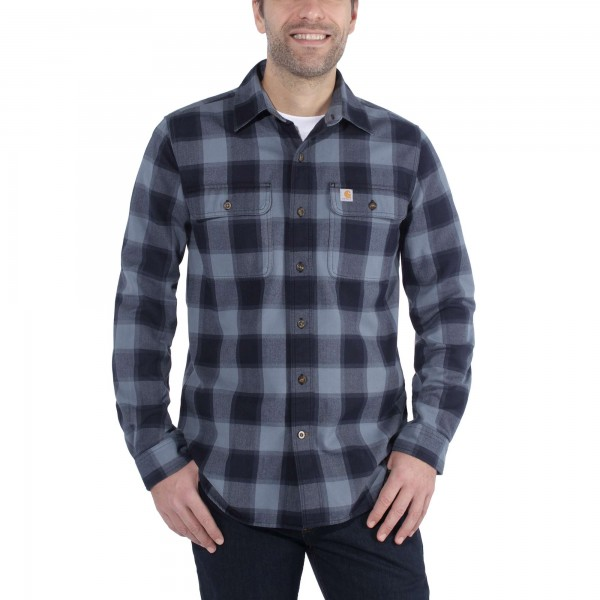 Carhartt HUBBARD SLIM-FIT FLANNEL SHIRT