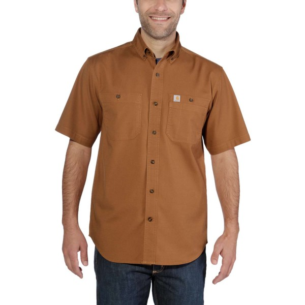 Carhartt RUGGED FLEX® RIGBY SHORT-SLEEVE WORK Hemd