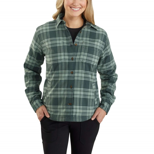 Carhartt HAMILTON PLAID FLANNEL Hemd WOMEN