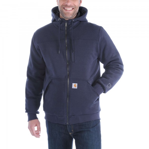Carhartt ROCKLAND QUILT-LINED FULL-ZIP HOODED SWEATSHIRT 103312