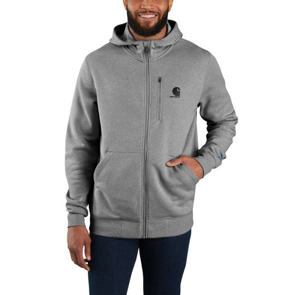 Carhartt FORCE DELMONT FULL ZIP HOODED SWEATSHIRT