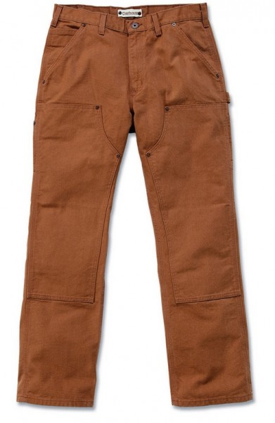 Carhartt Workwear EB136 BRN Double Front Work Pant