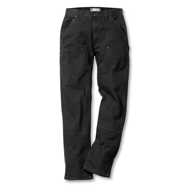 Carhartt Workwear EB136 BLK Double Front Work Pant