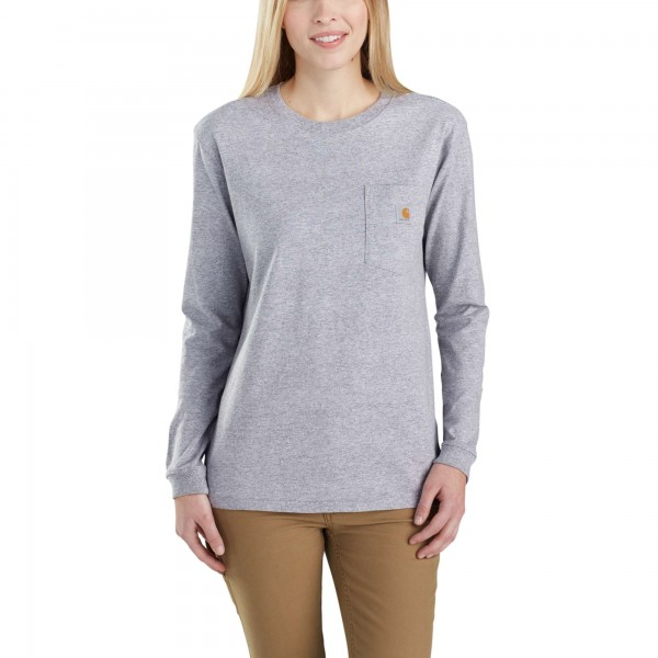 Carhartt POCKET LONG SLEEVE T-SHIRT WOMEN