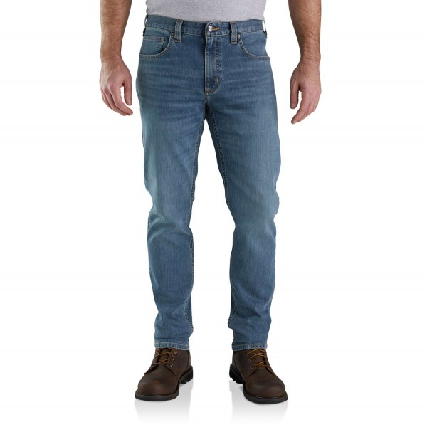 Carhartt RUGGED FLEX® RELAXED FIT LOW RISE 5-POCKET TAPERED JEAN